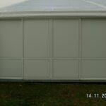 Feste Wände im Zelt