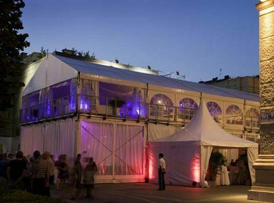 VIP-Partyzelt 10 x 20 m
