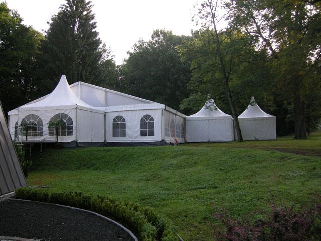 15 x 30 m VIP-Zelt