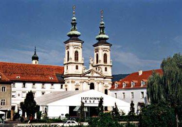 Großzelt Jazzsommer Graz