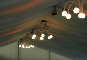 Ausstattung und Beleuchtung